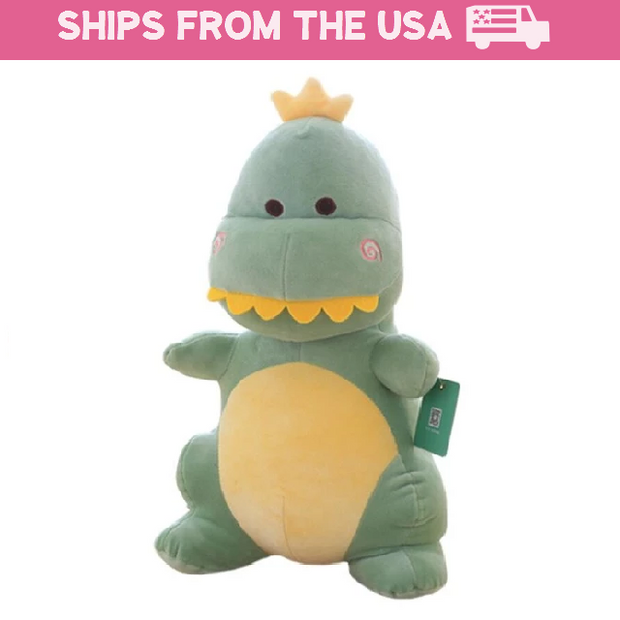 Toothy Dinosaur Plushie (3 Colors Available)
