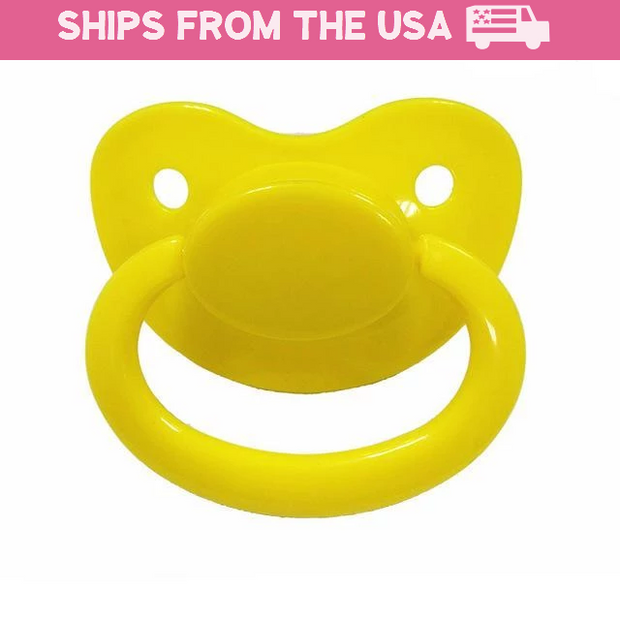 Yellow Adult Pacifier