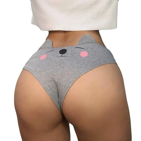 Cute Kitten Panties (2 Colors Available)