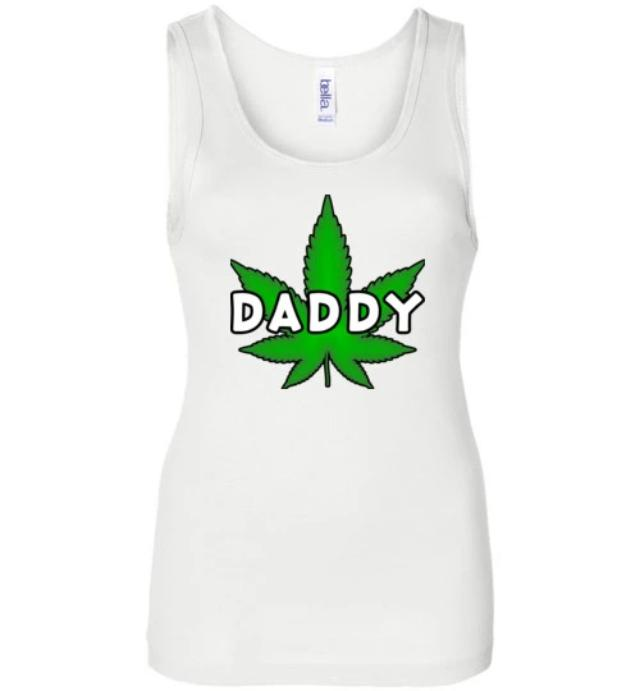 """Daddy"" Pot Leaf Tank Top (2 Colors Available)"