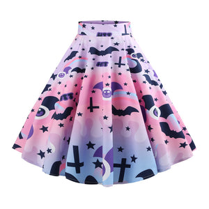 Pastel Goth Party Skirt