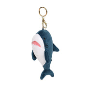 Cute Shark Plush Keychain