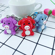 Little Piggy Keychain (7 Colors Available)