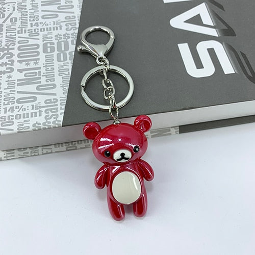 Little Kuma Keychain (7 Colors Available)