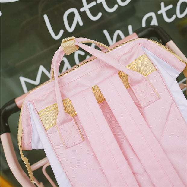Cute Maiden Heart Milk Backpack (5 Colors Available)