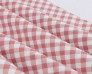 Pink Checkered Picnic Dress