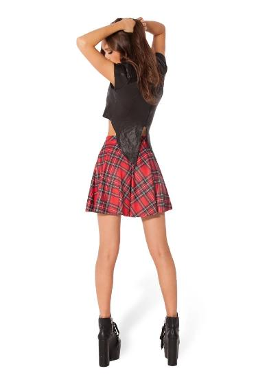 Pretty in Plaid Skater Skirt (2 Colors Available)