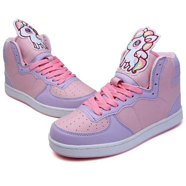 Kawaii Unicorn Sneakers