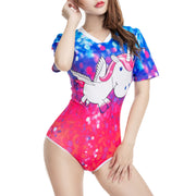 """I Love Daddy"" Unicorn Onesie"