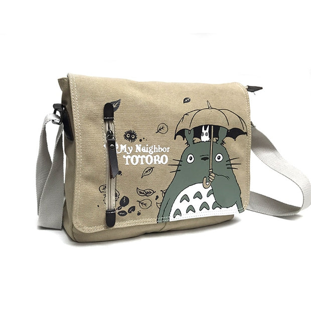 My Neighbor Totoro Canvas Messenger Bag