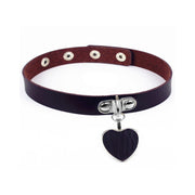 Heart Pendant Collar (11 Colors Available)