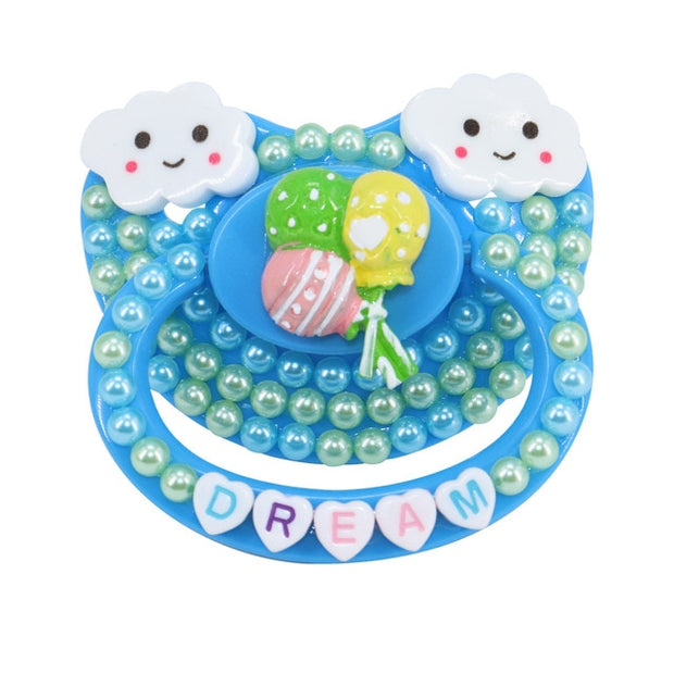 Soft Clouds Dream Decorated Adult Pacifier