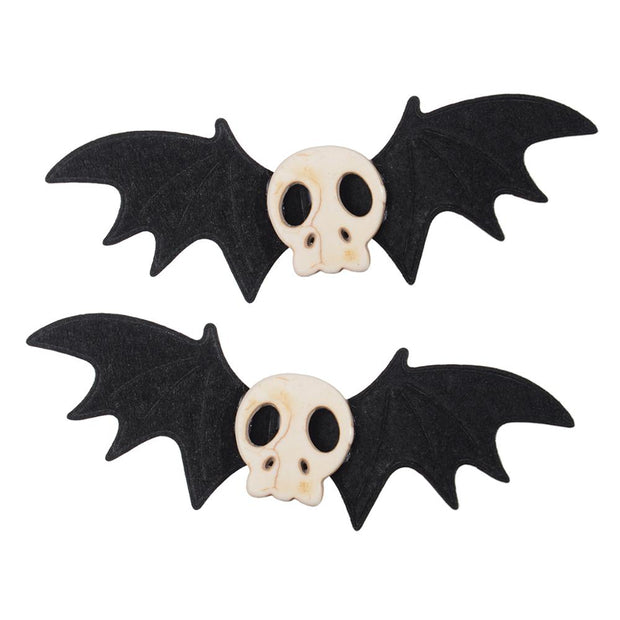Gothic Lolita Halloween Skull Bat Hair Accessories