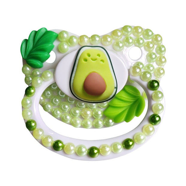 Cute Avocado Adult Pacifier