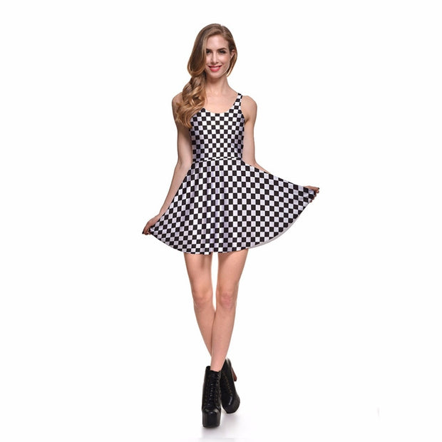 Cute Checkered Dress