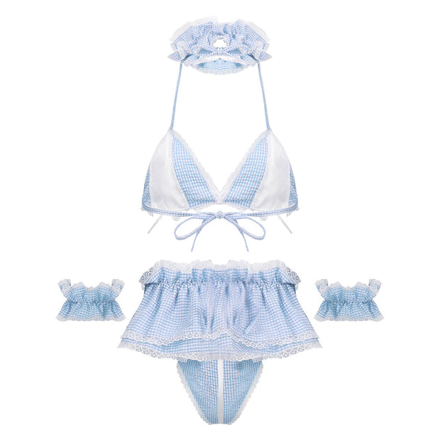 Pretty Girl Lingerie Set (4 Colors Available)