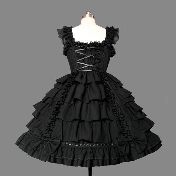Gothic Sweetheart Lace Lolita Dress