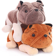 Bulldog Puppy Plushie (2 Colors Available)