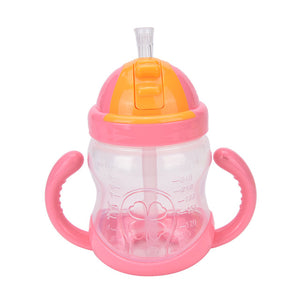 Dual-Handle Sippy Cup (3 Colors Available)