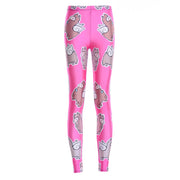 Pink Alpaca Leggings