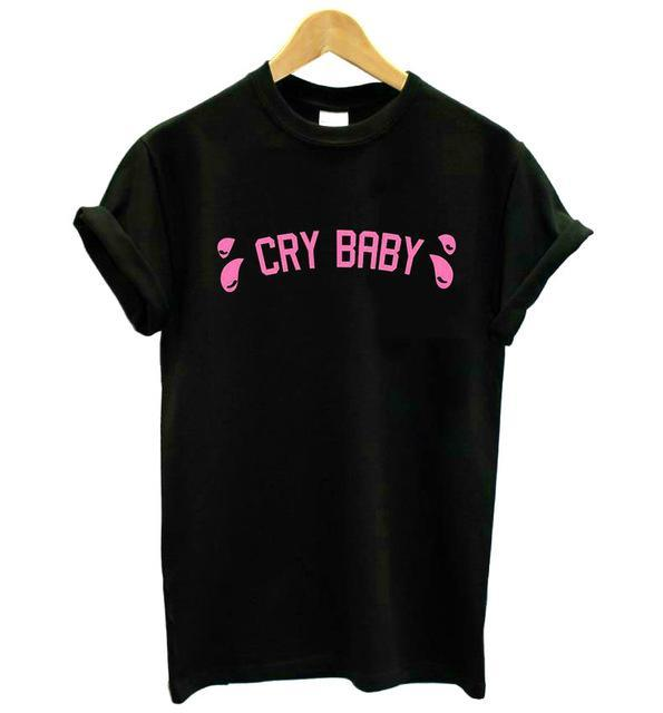 Cry Baby T-Shirt (3 Colors Available)