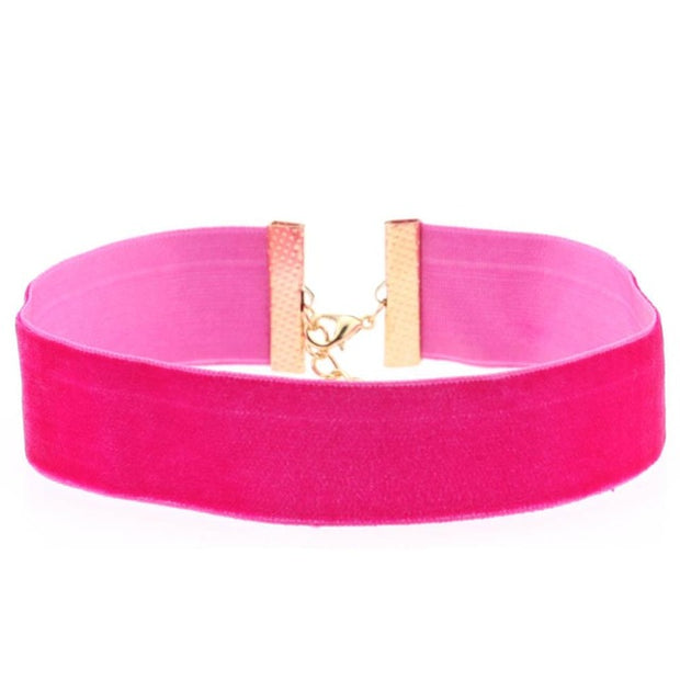 Classic Soft Velvet Collar (14 Colors Available)