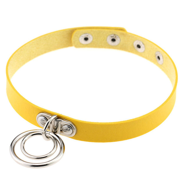 Double Ring Collar (13 Colors Available)