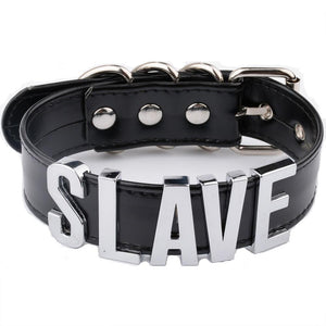 """Slave"" Collar (6 Colors Available)"