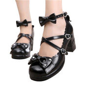 Sweet Lolita Chunky Heel Princess Shoes (9 Colors Available)