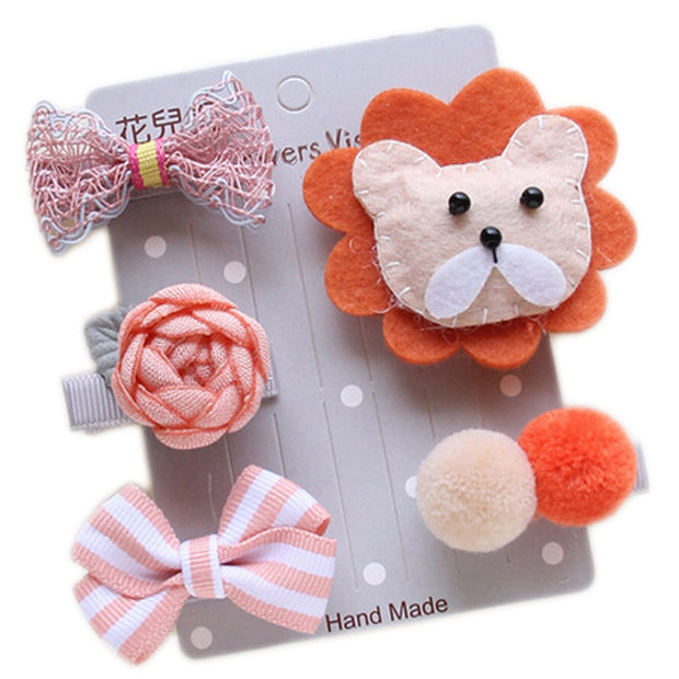 Lion 5-Piece Hair Accessory Set