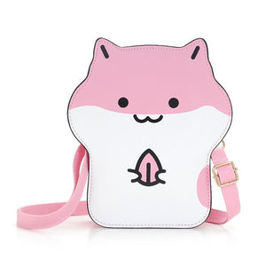 Kawaii Hamster Crossbody Bag (3 Colors Available)