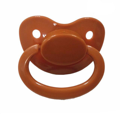 Brown Adult Pacifier