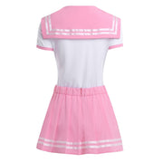 Adorable Onesie with Pleated Skirt (2 Colors Available)