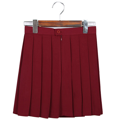Pleated Mini Skirt (11 Colors Available)