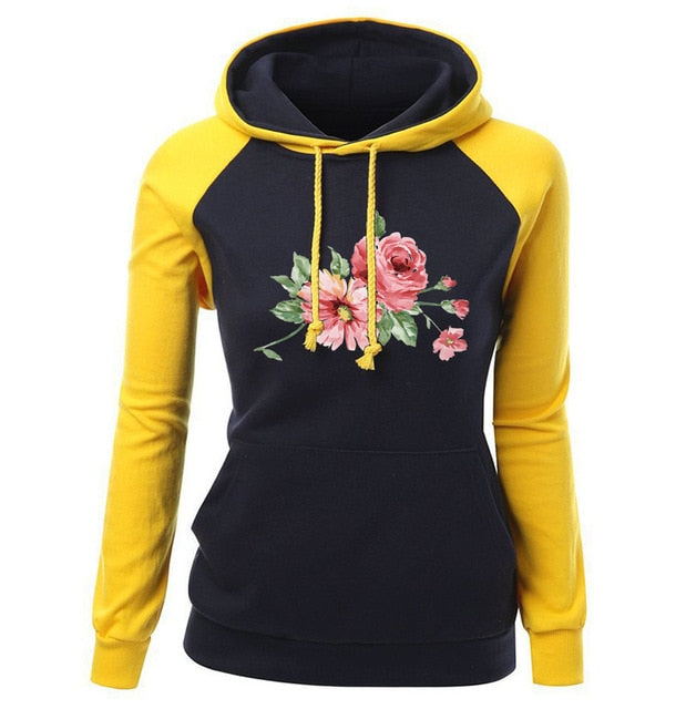 Sweet Floral Sweatshirt (4 Colors Available)