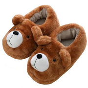 Little Brown Bear Slippers