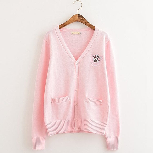 Sweet Cinnamoroll Cardigan (3 Colors Available)