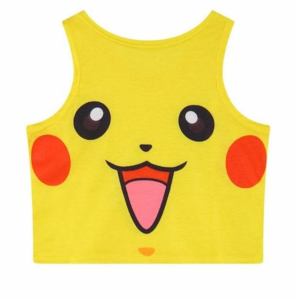 Pokemop Crop Top (10 Styles Available)