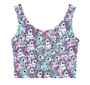Vintage My Little Pony Crop Top