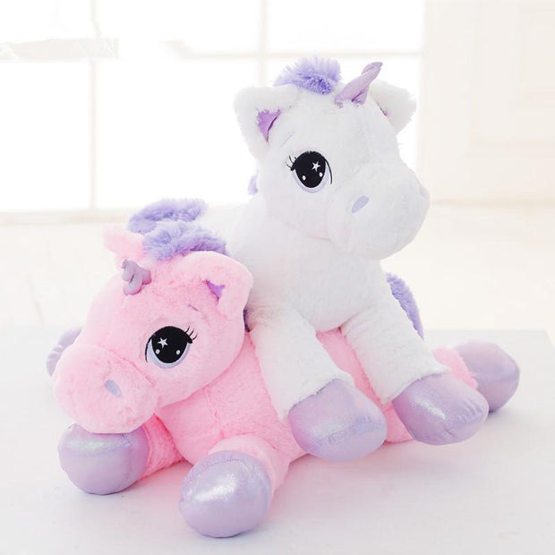 Jumbo Unicorn Plushie (2 Colors Available)