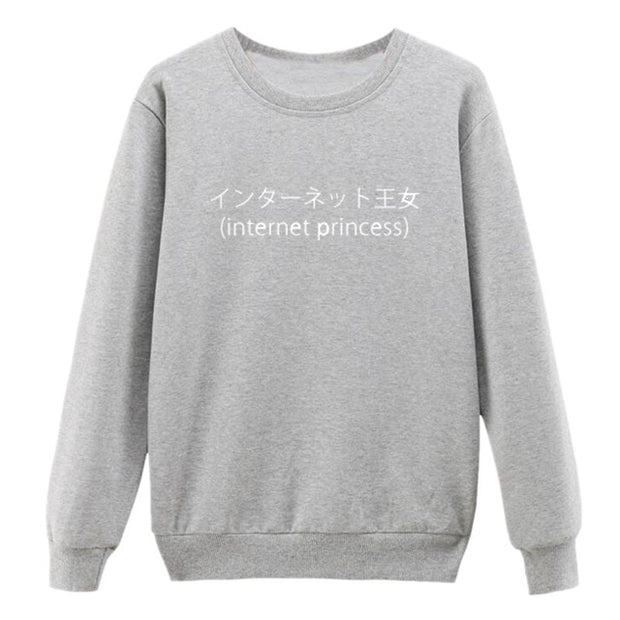 """Internet Princess"" Sweatshirt"