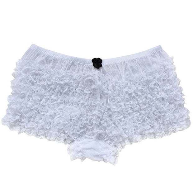 Sweet Ruffled Lace Bloomers (5 Colors Available)