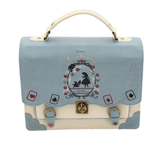 Alice In Wonderland Vintage Tote (4 Colors Available)