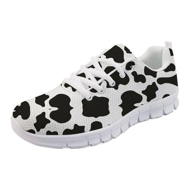 Little Cow Print Sneakers