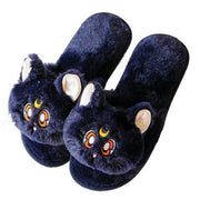 Soft Plush Luna Slippers (3 Colors Available)