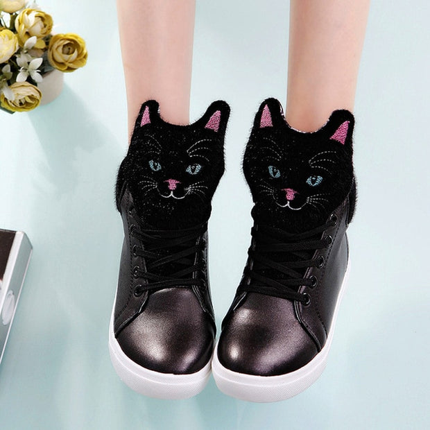 Kitty High Top Sneakers (2 Colors Available)