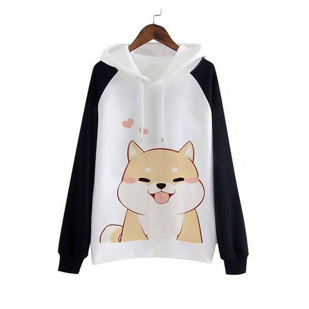 Kawaii Corgi Sweatshirt (2 Colors Available)
