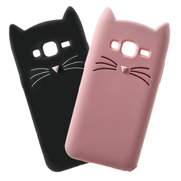 Little Kitten Samsung Galaxy Phone Case (2 Colors Available)