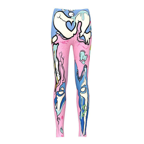 Pastel Skeleton Leggings