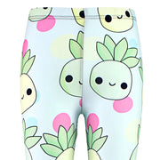 Pastel Kawaii Pineapple Leggings